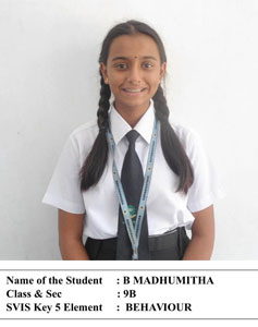 student of the month june 2018